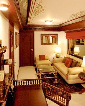 Maharaja Express Luxury Train Presidential Suite