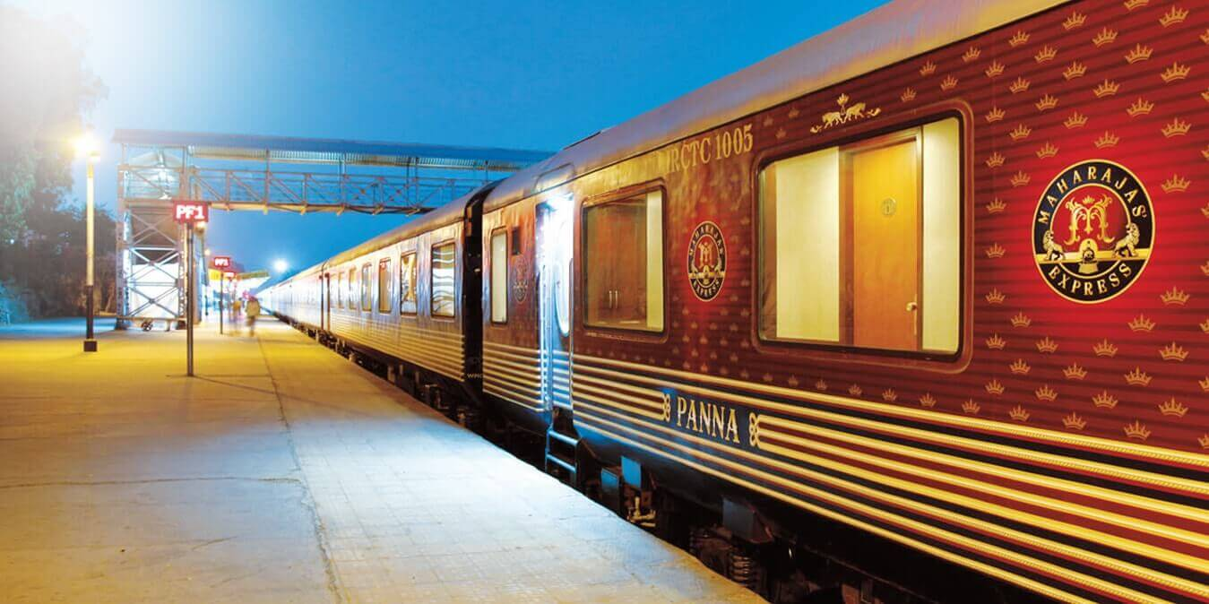 Maharajas' Express OFFICIAL WEBSITE   Luxury Train Tour in